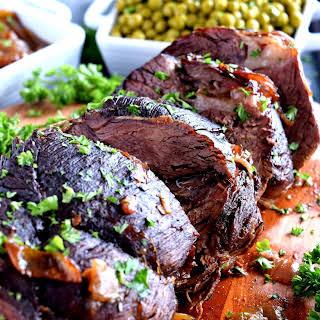 Oven Roasted Beef Sirloin.