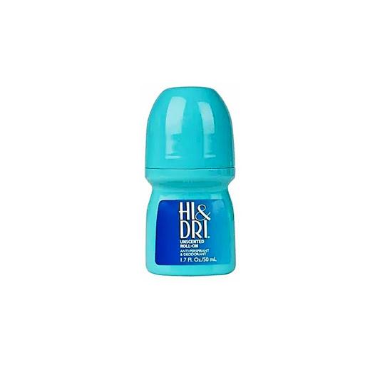 desodorante rolon hi&dri sin perfume azul Hi&Dri