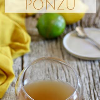 Make Your Own Ponzu.