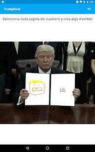 Trump Book: GIF creator screenshot