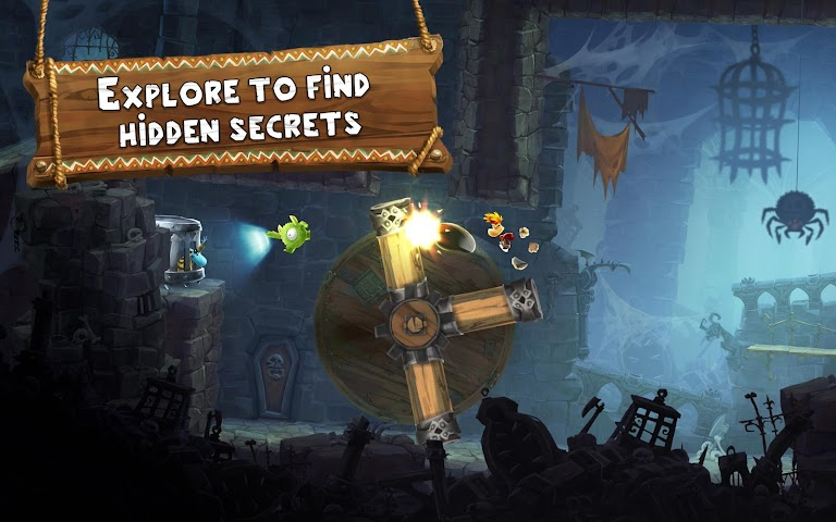 android Rayman Adventures Screenshot 9