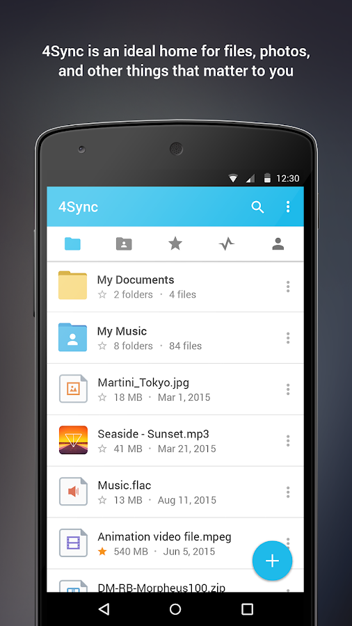 4Sync- screenshot