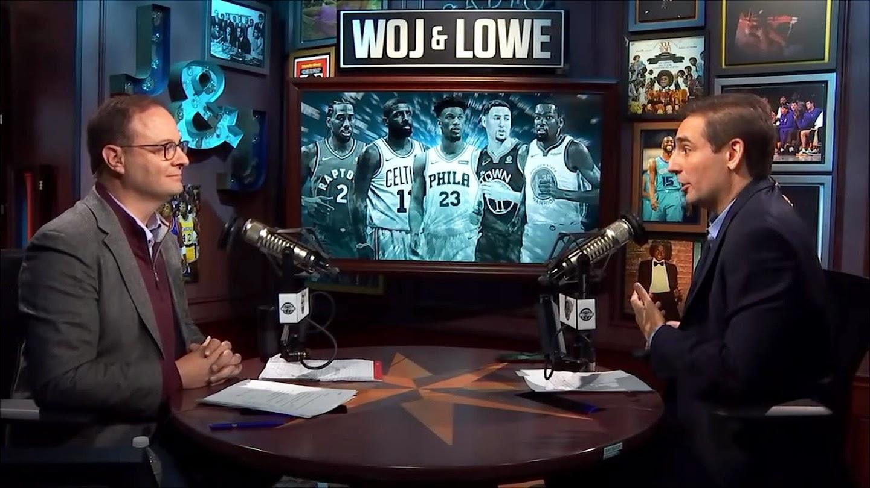 Watch Woj & Lowe Free Agency Special live