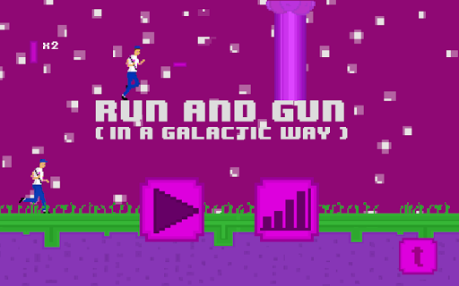 Run and Gun In a Galactic Way