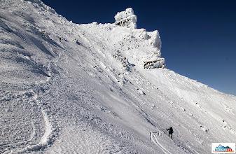 Photo: Skiing from Koryaksky