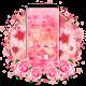 Pink Rose Blossom Flower Theme (app)