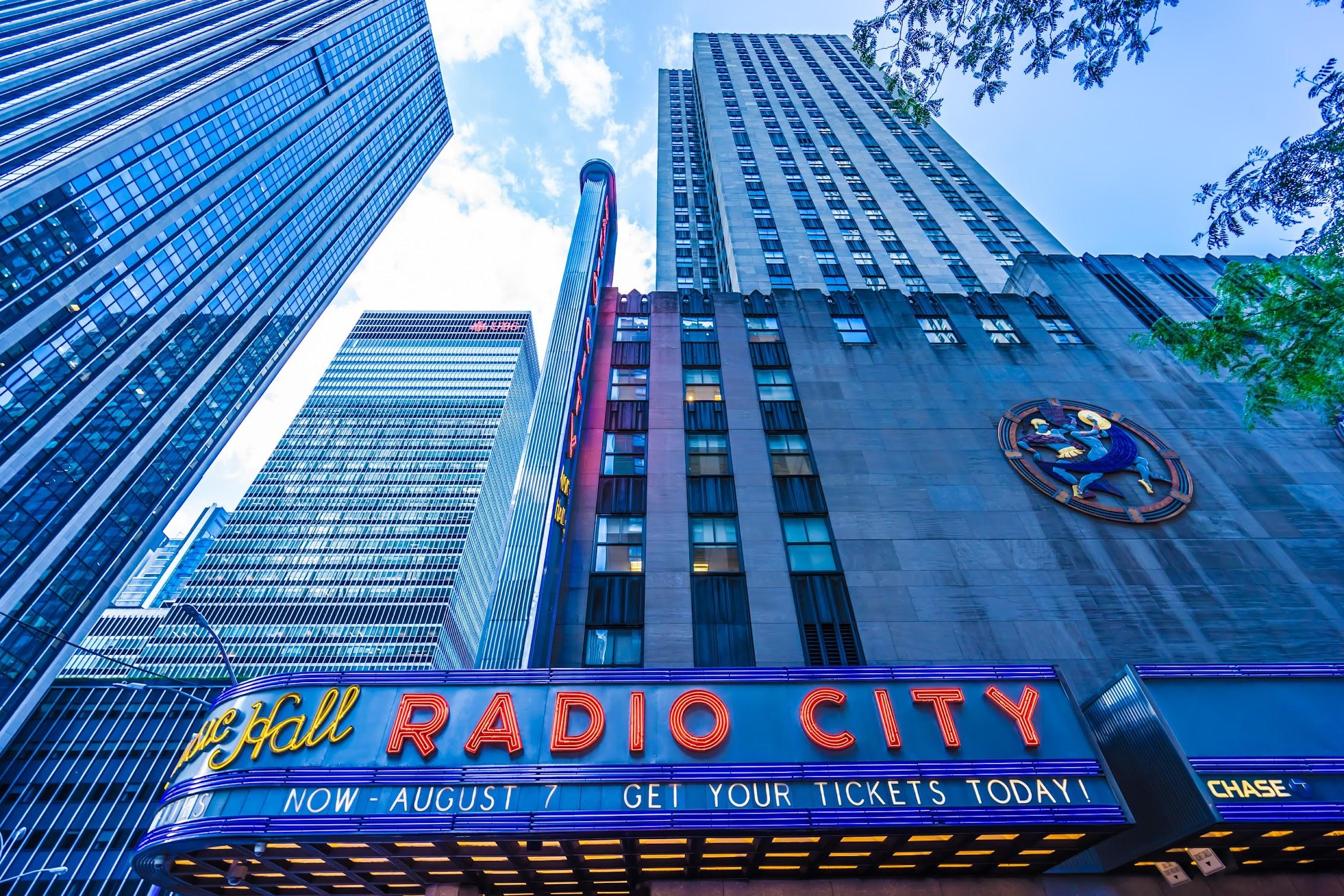 ニューヨーク ロックフェラーセンター ラジオシティ・ミュージックホール2
