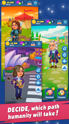 Game of Evolution: Idle Clicker & Merge Life screenshots 5