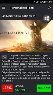 Green Man Gaming- screenshot thumbnail