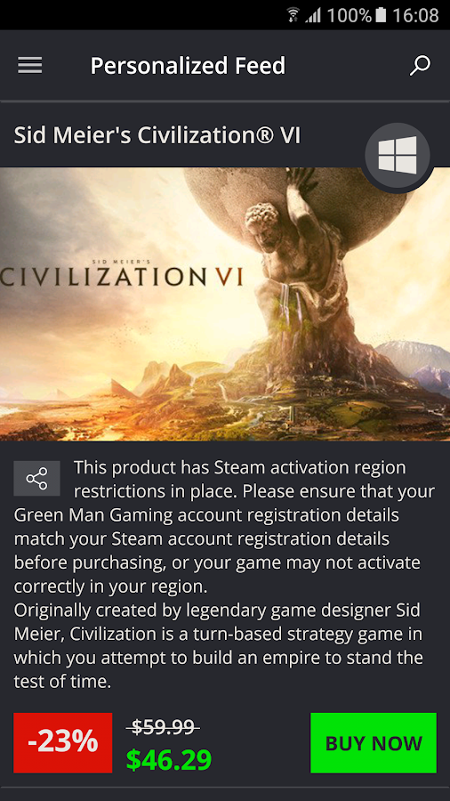 Green Man Gaming- screenshot