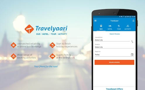 Travelyaari - Book Bus & Tours- screenshot thumbnail