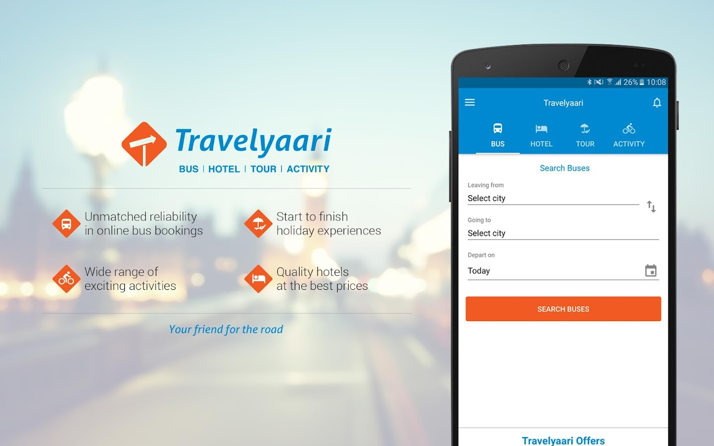 Travelyaari - Book Bus & Tours- screenshot