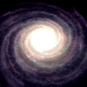 Spiral Galaxies 3D Live WP icon