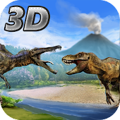 Ninja Kung Fu Dino Fighting 3D
