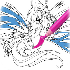 Coloring Book For Winx APK Download Android