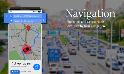 Voice GPS Driving Route : Gps Navigation & Maps screenshot 7