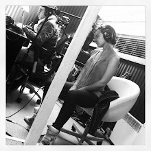 Photo: At the studio