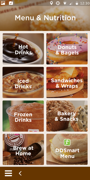 Dunkin' Donuts perks & rewards- screenshot