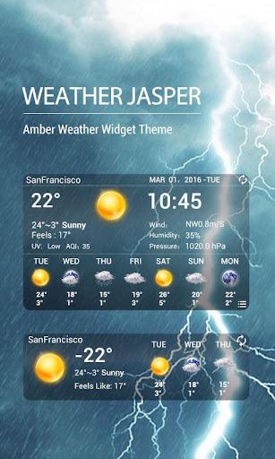 AQI 7-day weather forecast wid