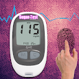 Blood Sugar Test Checker With Fingerprint apk