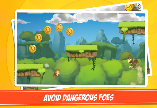 Monkey Mayhem скачать на планшет Андроид