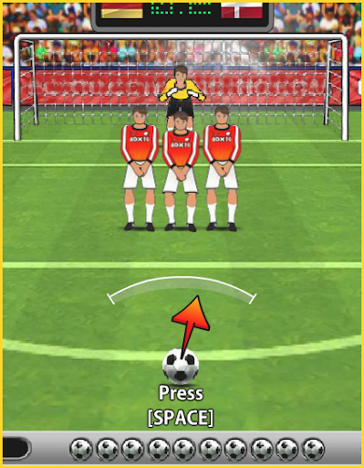 Free Kick Power Shoot