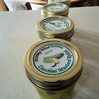 Zucchini Mustard Relish