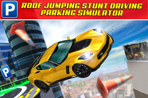 Roof Jumping Car Parking Sim 2