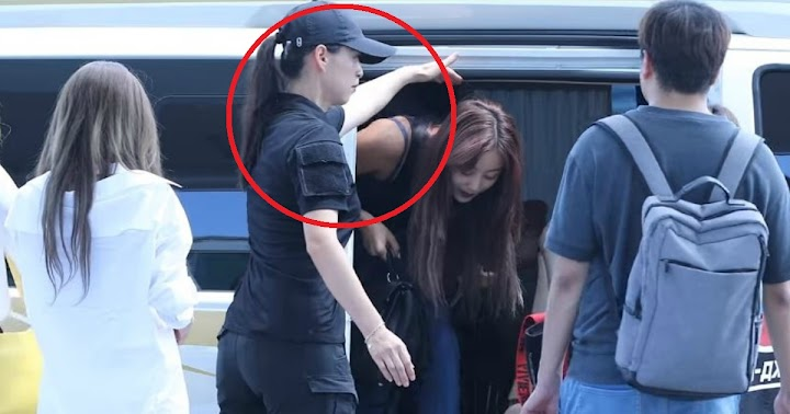 TWICE's Female Bodyguard Is So Cool And Fans Are Falling In Love