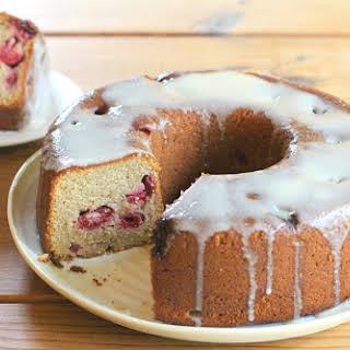 Honey Raspberry Cake.