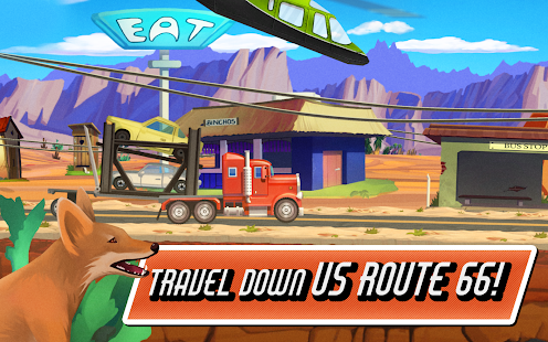 Truck Driving Race US Route 66- screenshot thumbnail