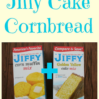 Jiffy Cake Cornbread.