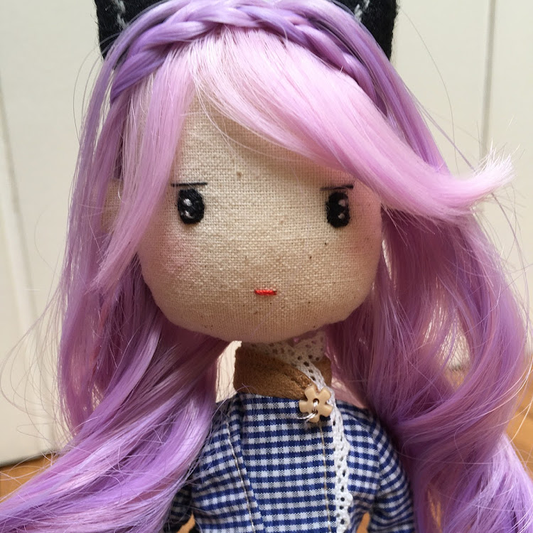 Handmade Doll -Kitty Lady