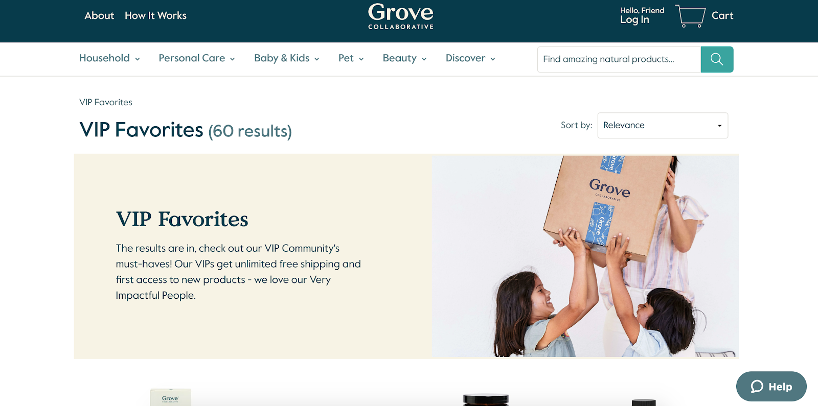 Grove collective paid membership rewards