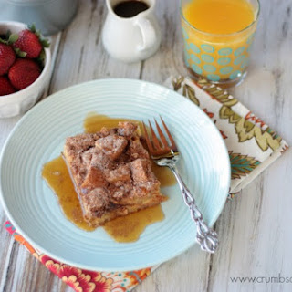 Cinnamon Crunch Buttermilk French Toast