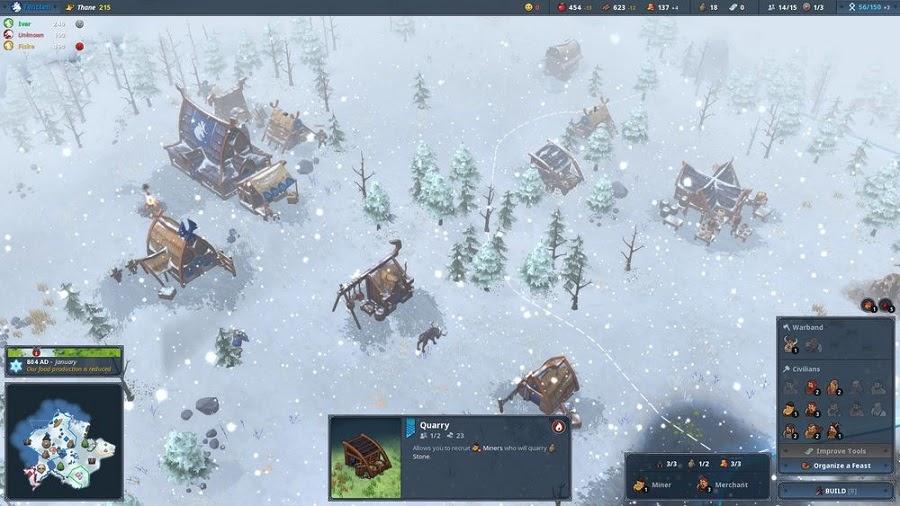 Games chiến lược Northgard cho PC