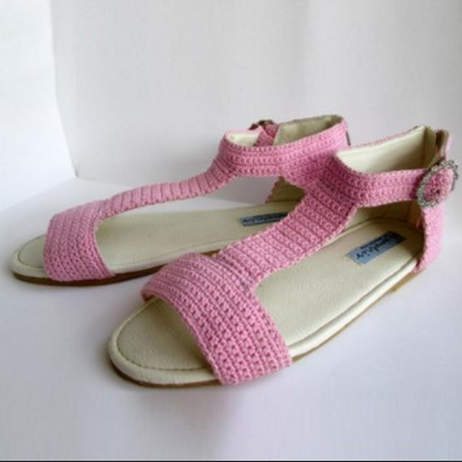 Knitted Sandals ss2