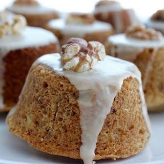 Coffee Cardamom Walnut Cakes