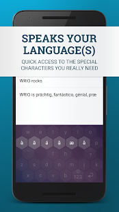 WRIO Keyboard (+Emoji) Screenshot