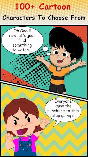 Cartoon Comic Strip Maker 1.6 Screenshots 12