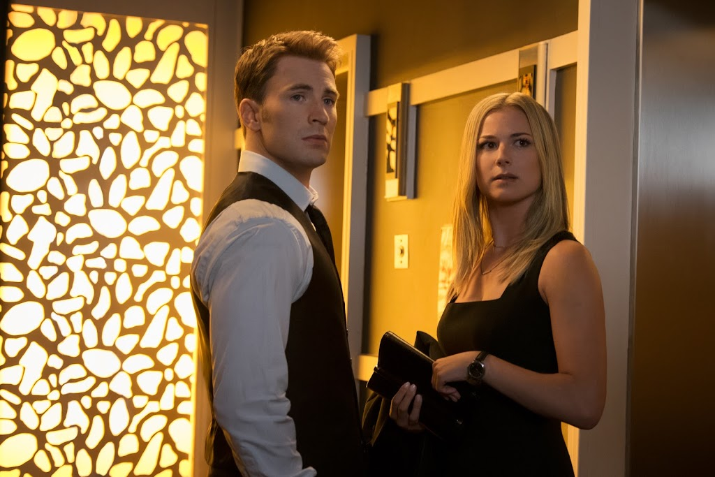 Marvel's Captain America: Civil War..L to R: Captain America/Steve Rogers (Chris Evans) and Agent 13/Sharon Carter (Emily VanCamp)..Photo Credit: Zade Rosenthal..© Marvel 2016