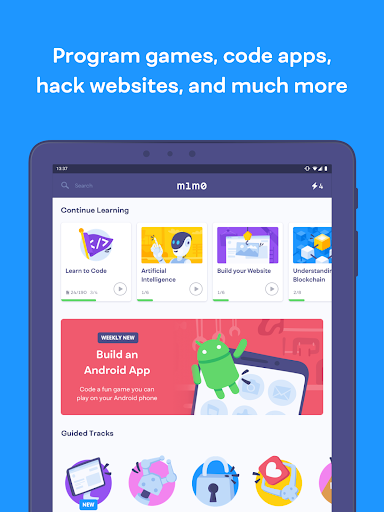 Mimo: Learn to Code HTML, CSS, JavaScript & more screenshots 8