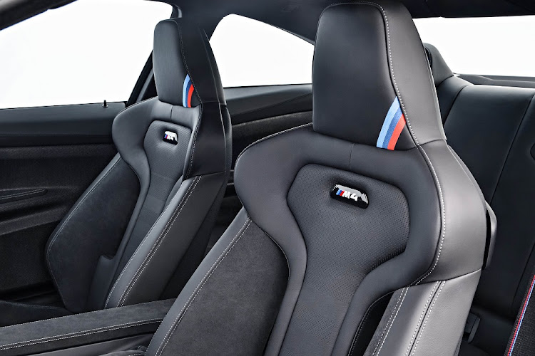 The seats are well bolstered and extremely supportive. Picture: BMW