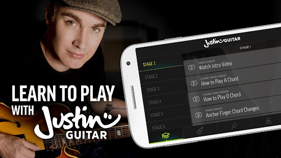 Justin Guitar Beginner Course: Songs, Tabs, Chords - Apps on Google Play