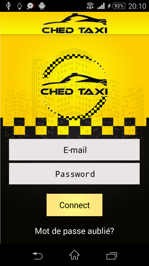 CHED-TAXI Chauffeur- screenshot