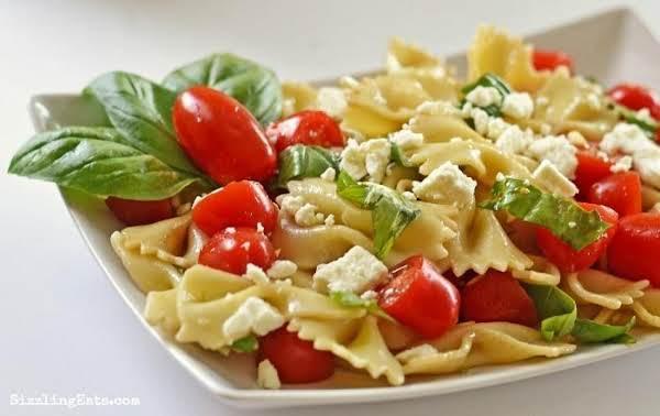 Harvest Pasta Salad W/ Feta Recipe