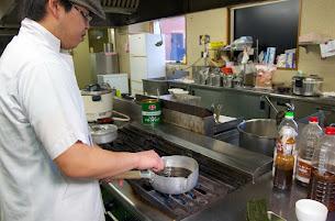 黒龍醤油麺の材料