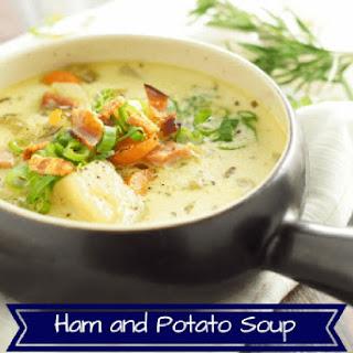 Instant Pot Gluten Free Potato Soup.