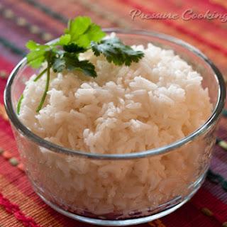 3-Minute Pressure Cooker White Rice