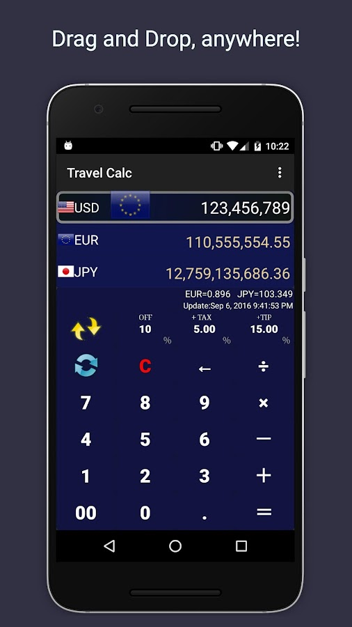 Travel Calculator- screenshot
